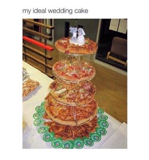 Food - my ideal wedding cake