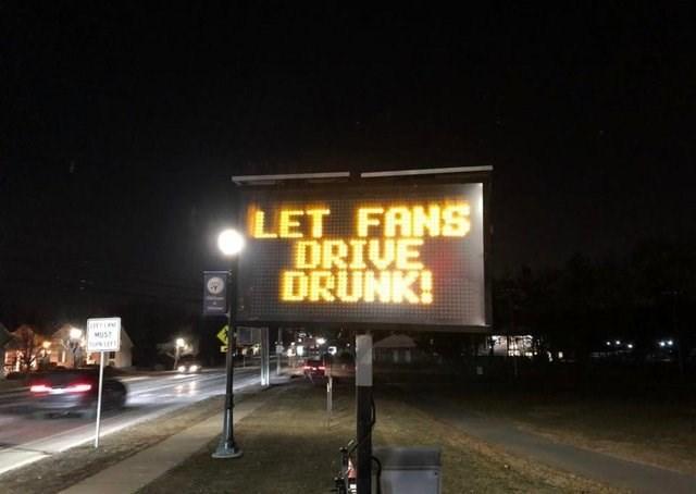Night - LET FANS DRIVE DRUNK! MIST
