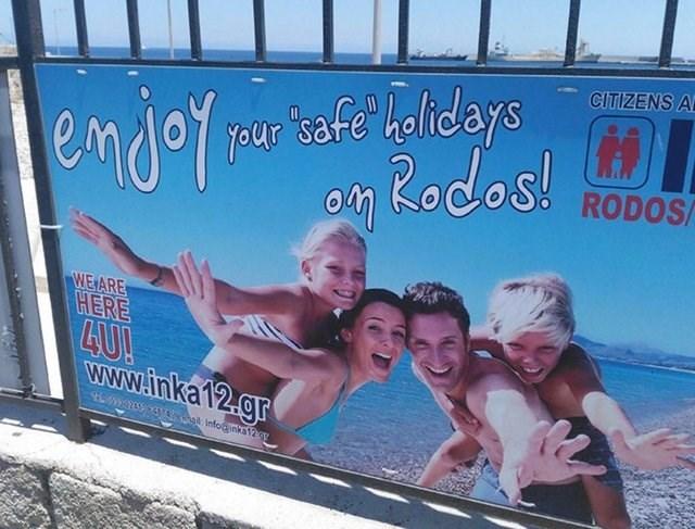 Advertising - jeur tafe halidays o Rodos! CITIZENS A RODOS/ WE ARE HERE 4U! www.inka12.gr 937 Infonka12g