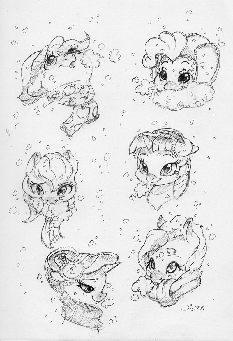 applejack dilarus twilight sparkle pinkie pie rarity fluttershy rainbow dash - 9269740288