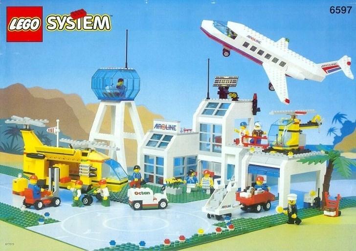 nostalgia - Toy - 6597 LEGO SYSIENM GANE ACLINE octan etiois