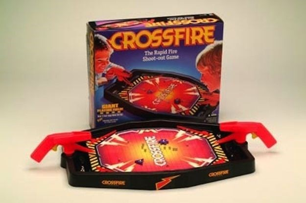nostalgia - Games - CROSSFIRE The Rapid Fire Shoot-out Game CIANT CPESE CROSSPIE E5SOND