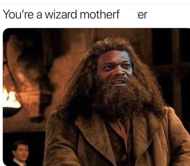 Hair - You're a wizard motherf er