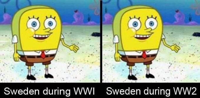 Cartoon - Sweden during WW2 Sweden during WWi
