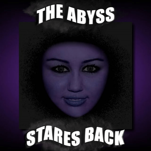 Album cover - THE ABYSS STARES BACK