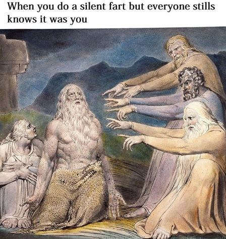 Mythology - When you do a silent fart but everyone stills knows it was you