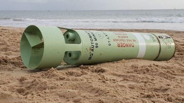 Cylinder - DANGER NE PAS TOUCHER X7-L0 aNIW O6 MO AUTOMA