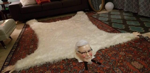 cursed image - Fur KFC
