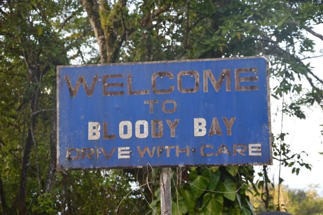 Nature reserve - vELCOMB TO BLOODY BAY OPE WITH CARE