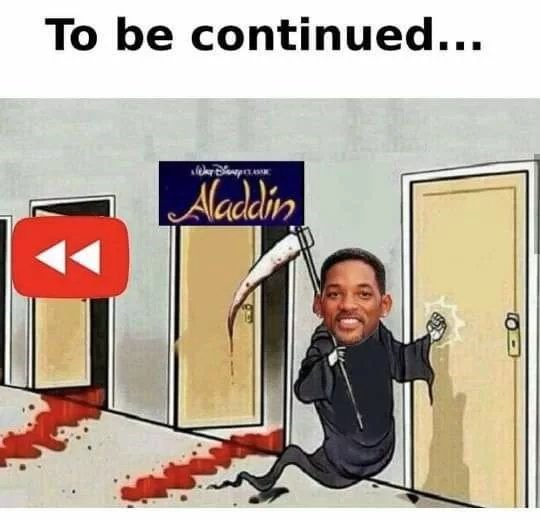 Cartoon - To be continued... Nladin