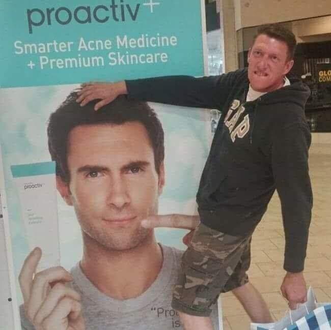 "optical illusion - Forehead - proactiv Smarter Acne Medicine +Premium Skincare GLO COM Drooctiv ""Pro is"