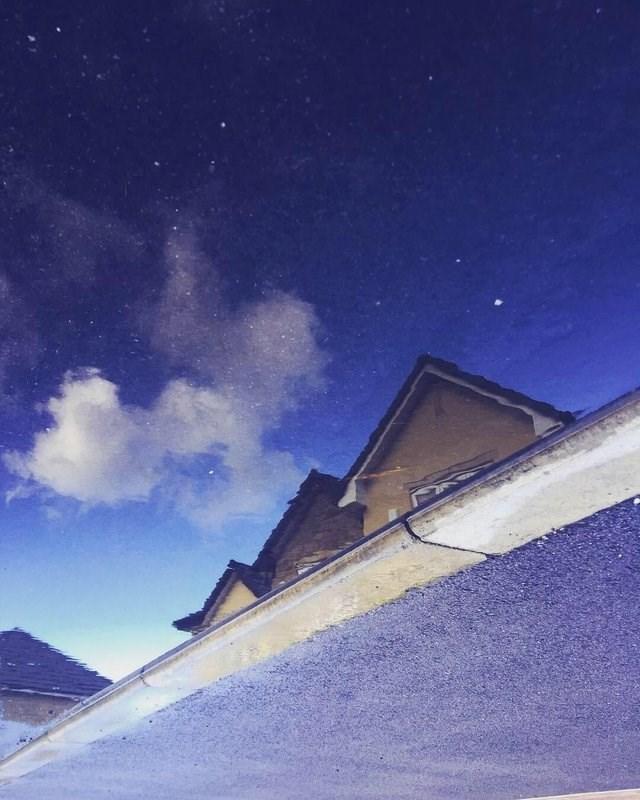 optical illusion - Sky
