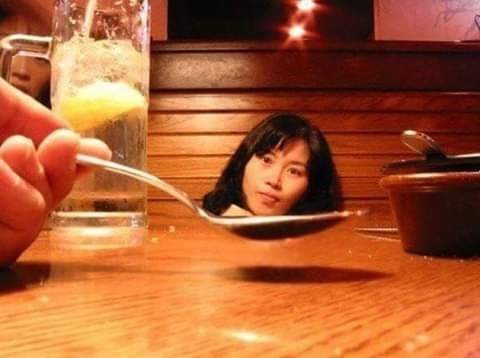 optical illusion - Drink