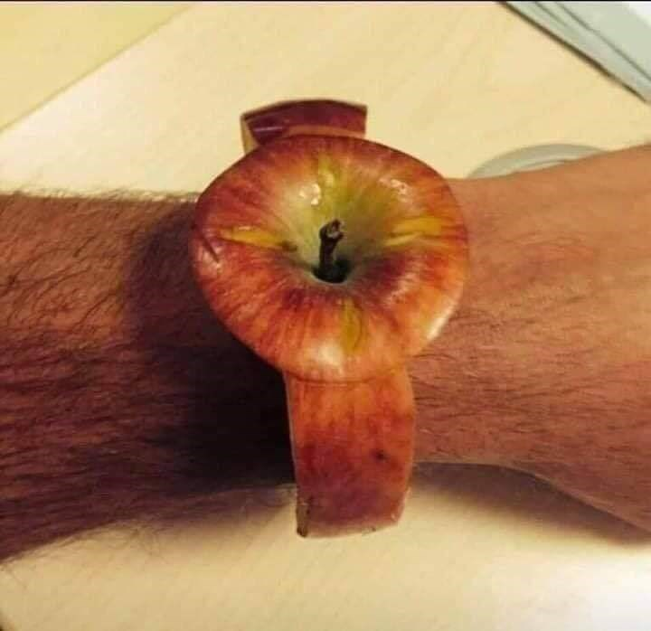 cursed images - Apple