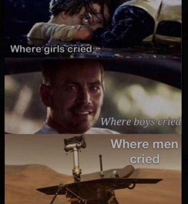 oppy meme - Movie - Where girls cried Where boys cried Where men cried