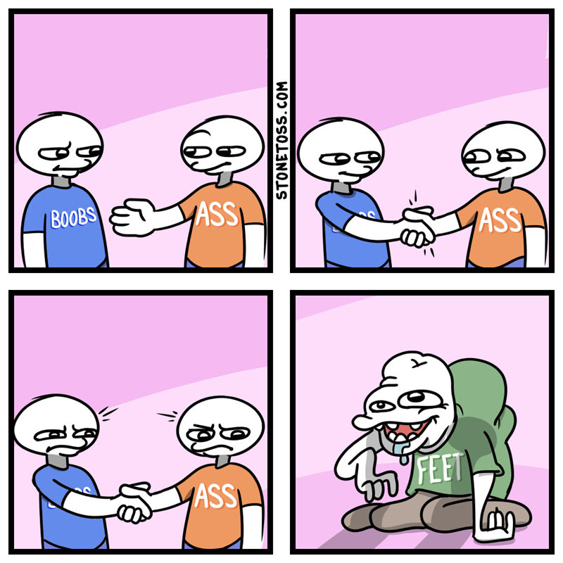 Cartoon - ASS BOOBS ASS FEET ASS STONETOSS.COM