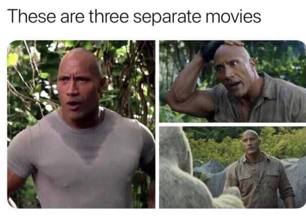 Adaptation - These are three separate movies