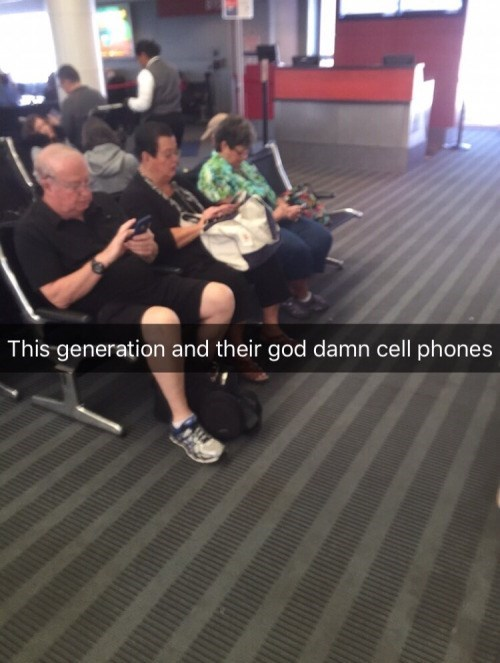 meme - Floor - This generation and their god damn cell phones