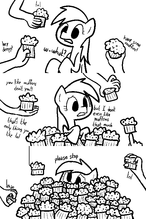 dinoderpy derpy hooves Memes comic muffins - 9272819200