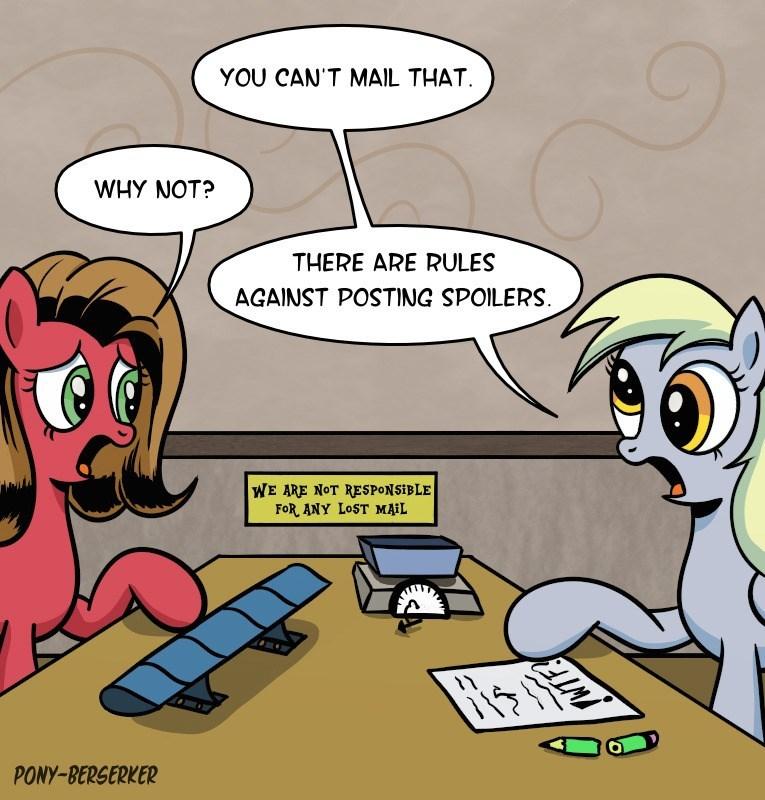 pun pony OC ask pun derpy hooves pony-berserker puns - 9272820480