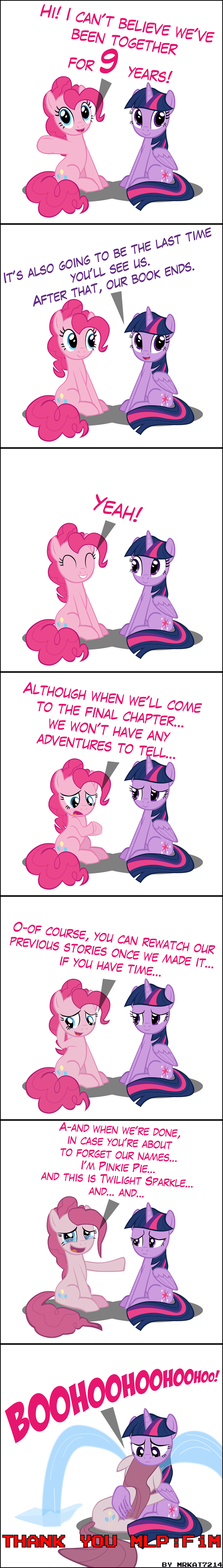 pinkamena diane pie mrkat7214 twilight sparkle pinkie pie comic - 9272821248