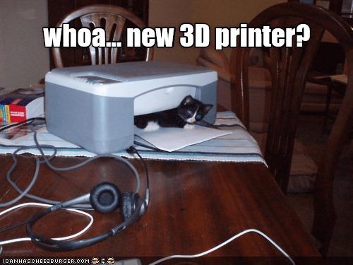 Table - whoanew 3D printer? ICANHASCHEEZEURGER, COM