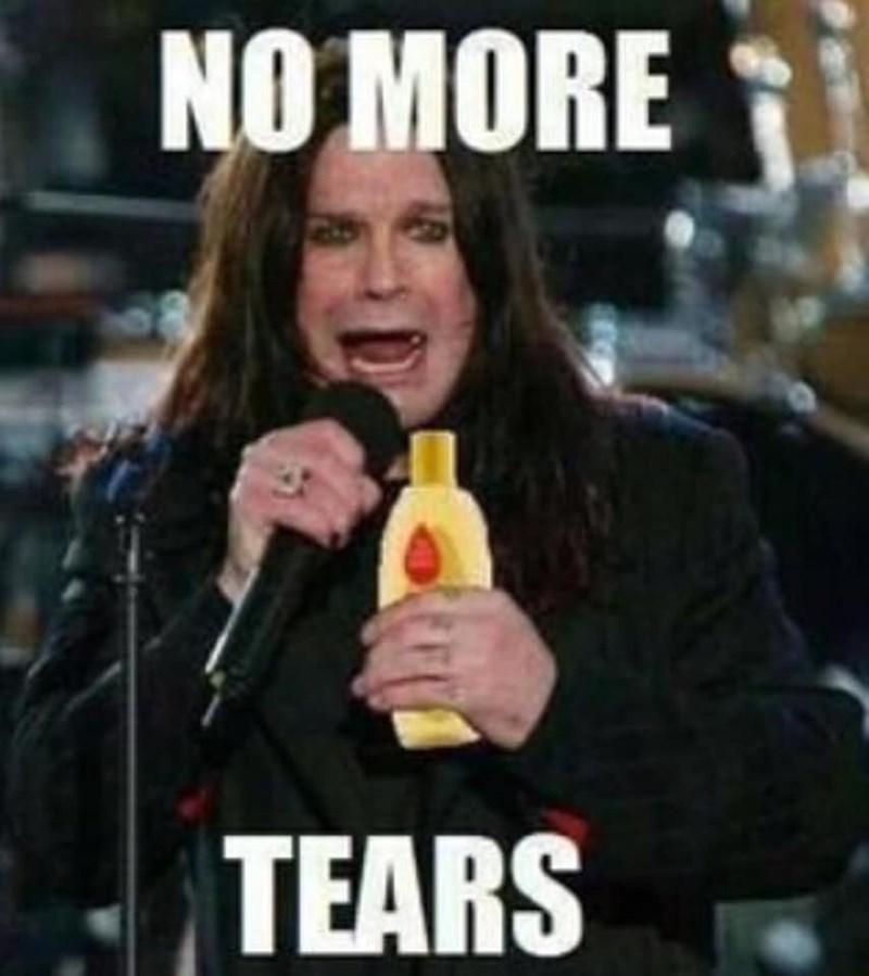 Facial expression - NO MORE TEARS