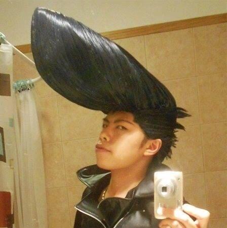cursed image - Hair