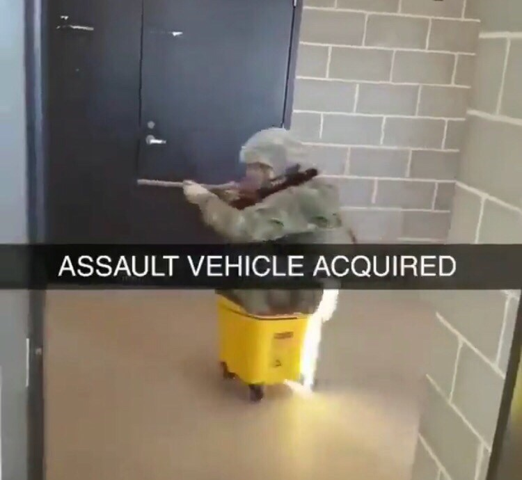 cursed image - Tile - ASSAULT VEHICLE ACQUIRED
