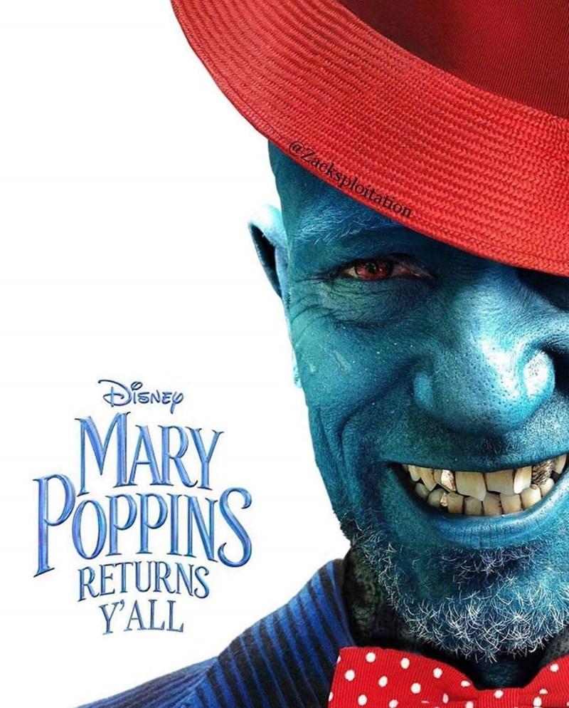 Poster - @Zacksploitation MARY POPPINS dav RETURNS YALL