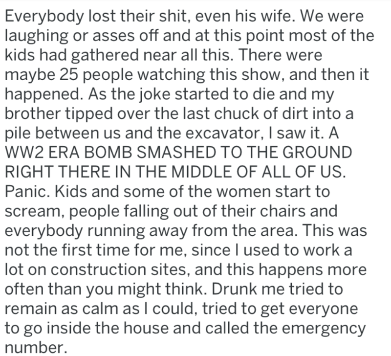 screenshot of text from reddit about dad joke that went too far and got fire department involved