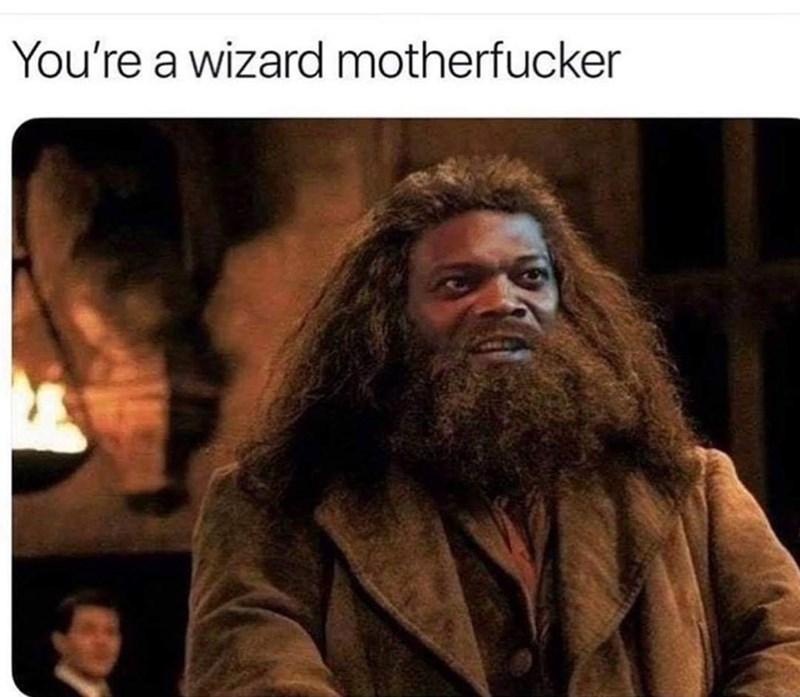 Hair - You're a wizard motherfucker