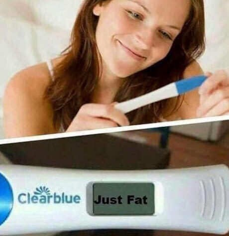 Pregnancy test - Clearblue Just Fat