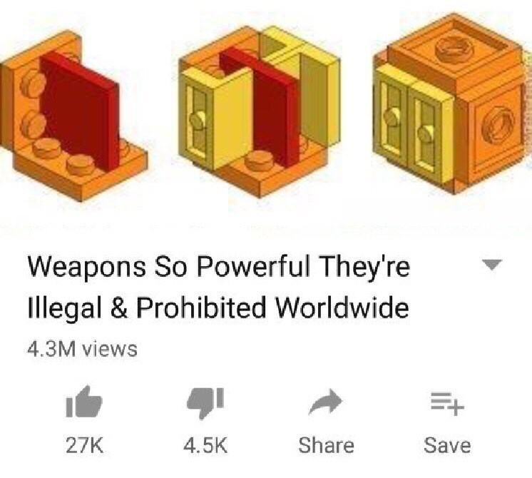 Product - Weapons So Powerful They're Illegal & Prohibited Worldwide 4.3M views Share Save 27K 4.5K