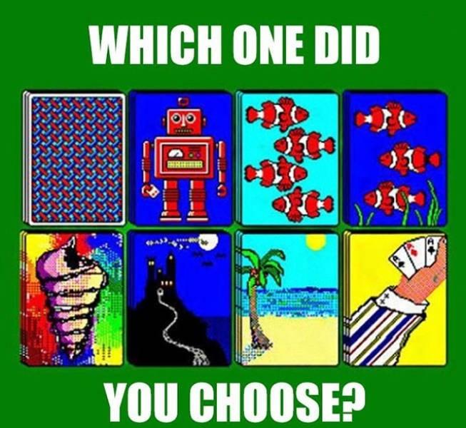 nostalgic pic of windows 95 solitaire