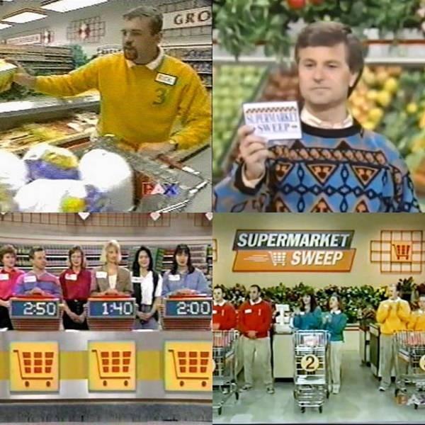 nostalgic pics of the show supermarket sweep