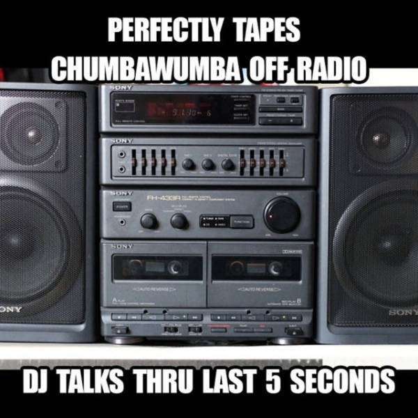 nostalgic meme about taping music from the radio