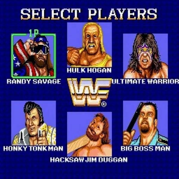 nostalgic pic from the wwf superstars arcade game