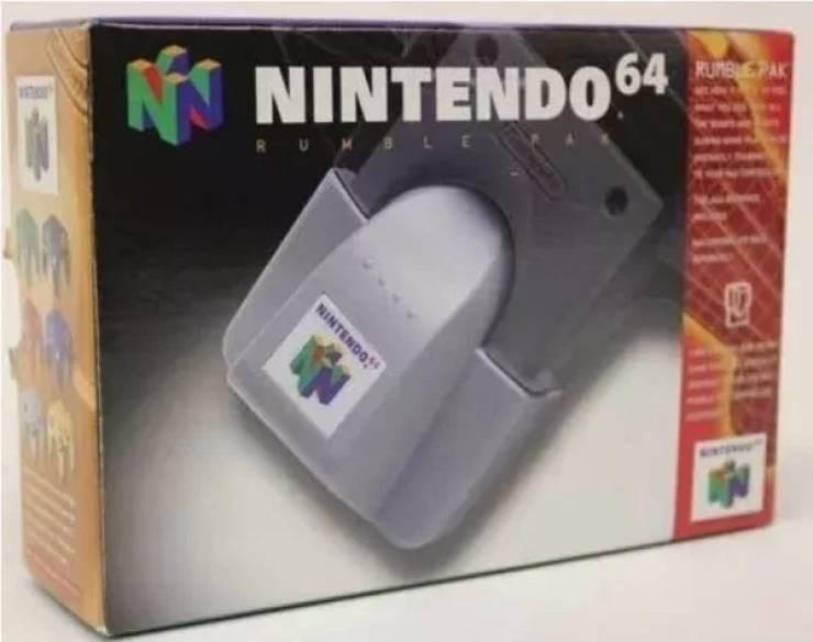 nostalgic pic of the nintendo 64 console