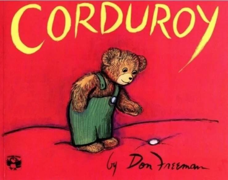 nostalgic pic of corduroy the bear