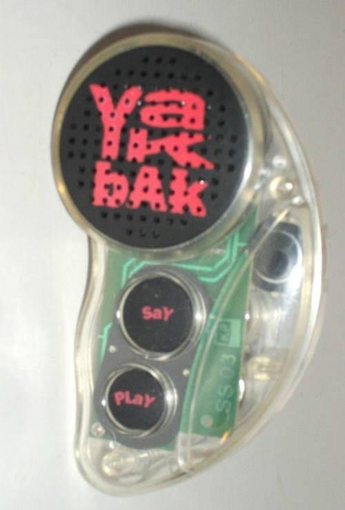 nostalgic pic of the yak bak toy