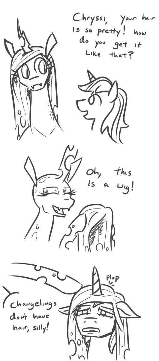jargwell prescott shining armor chrysalis comic changelings - 9274658560