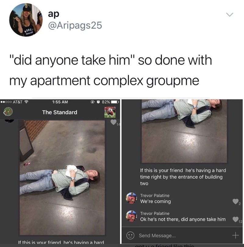 funny meme about a drunk guy getting taken