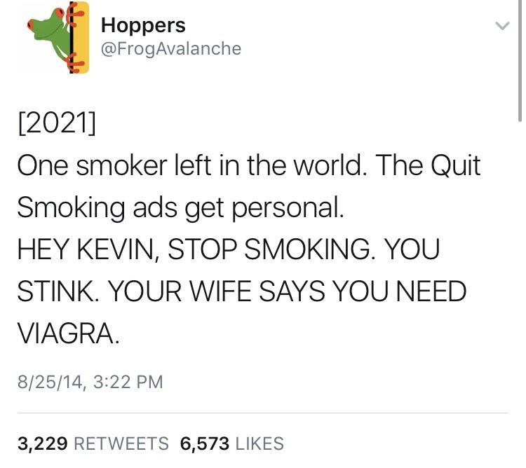 funny meme about the last smoker on earth