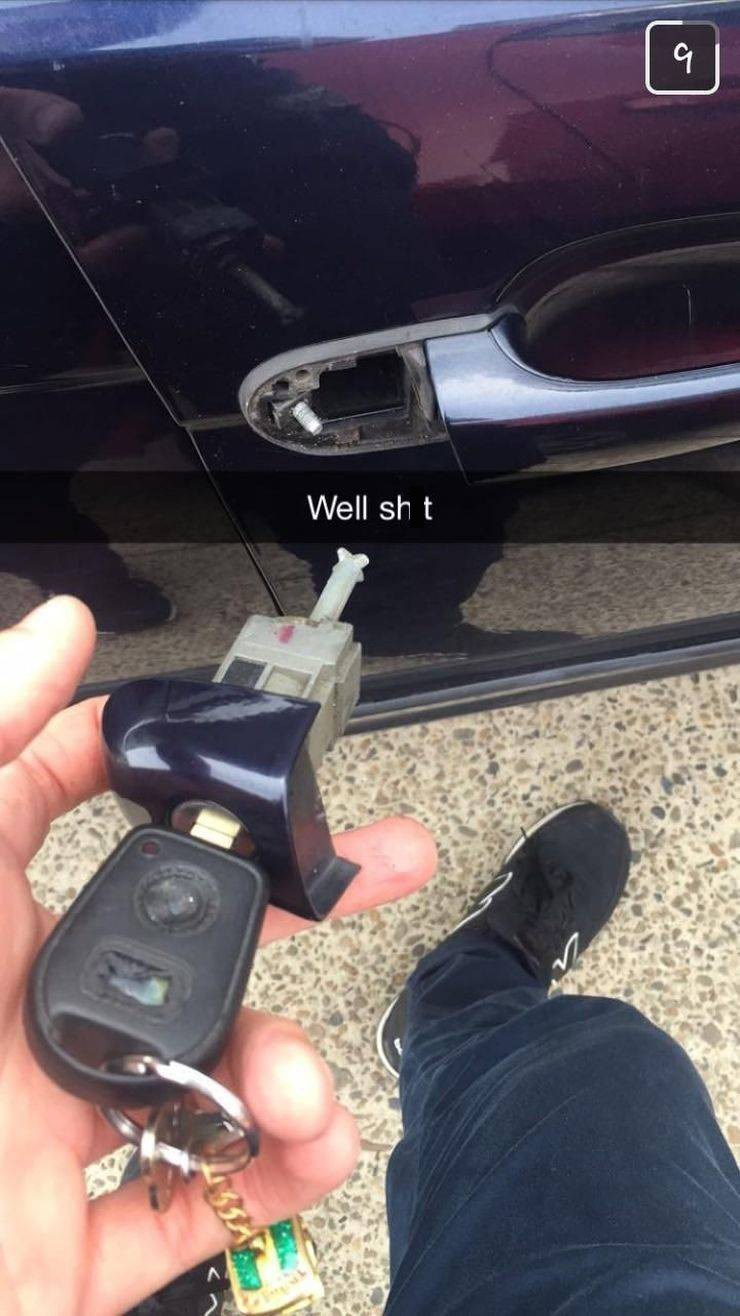 Auto part - Well sh t