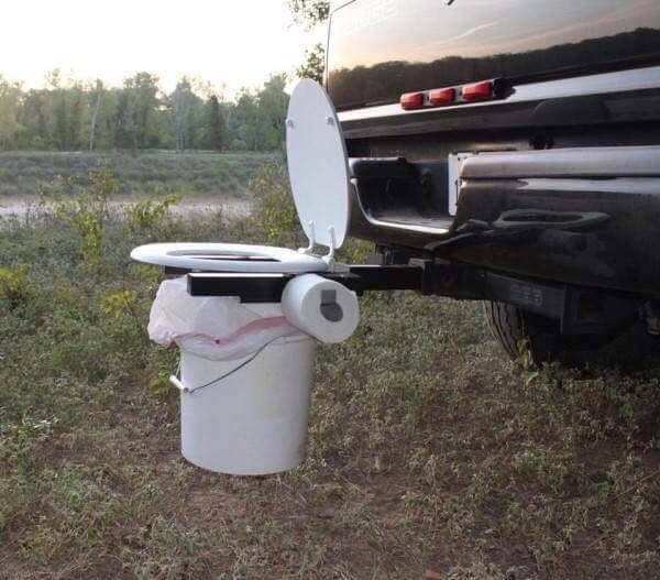 cursed_image - toilet on top of a bucket