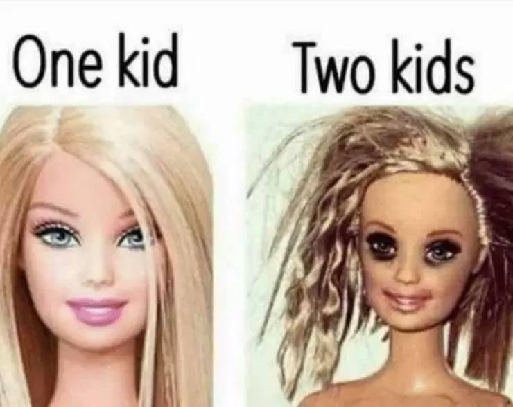 Hair - One kid Two kids