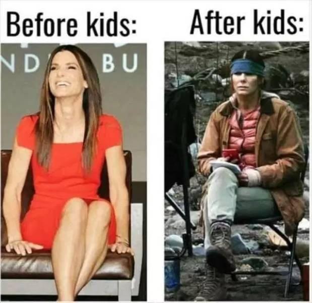 Fashion - After kids: Before kids: N D BU