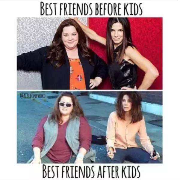 Text - BEST FRIENDS BEFORE KIDS ALYCONEWORD BEST FRIENDS AFTER KIDS
