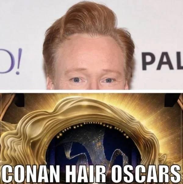 Hair - PAL CONAN HAIR OSCARS